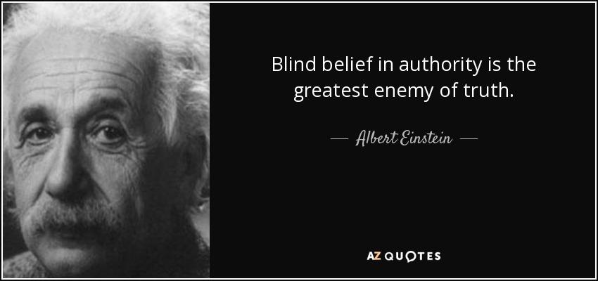 Einstein quote to LIVEBY!